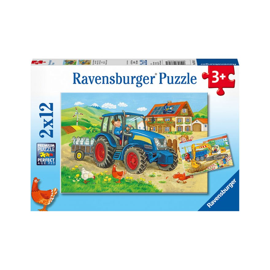 RAVENSBURGER 2X12 PÅ BONDEGÅRDEN
