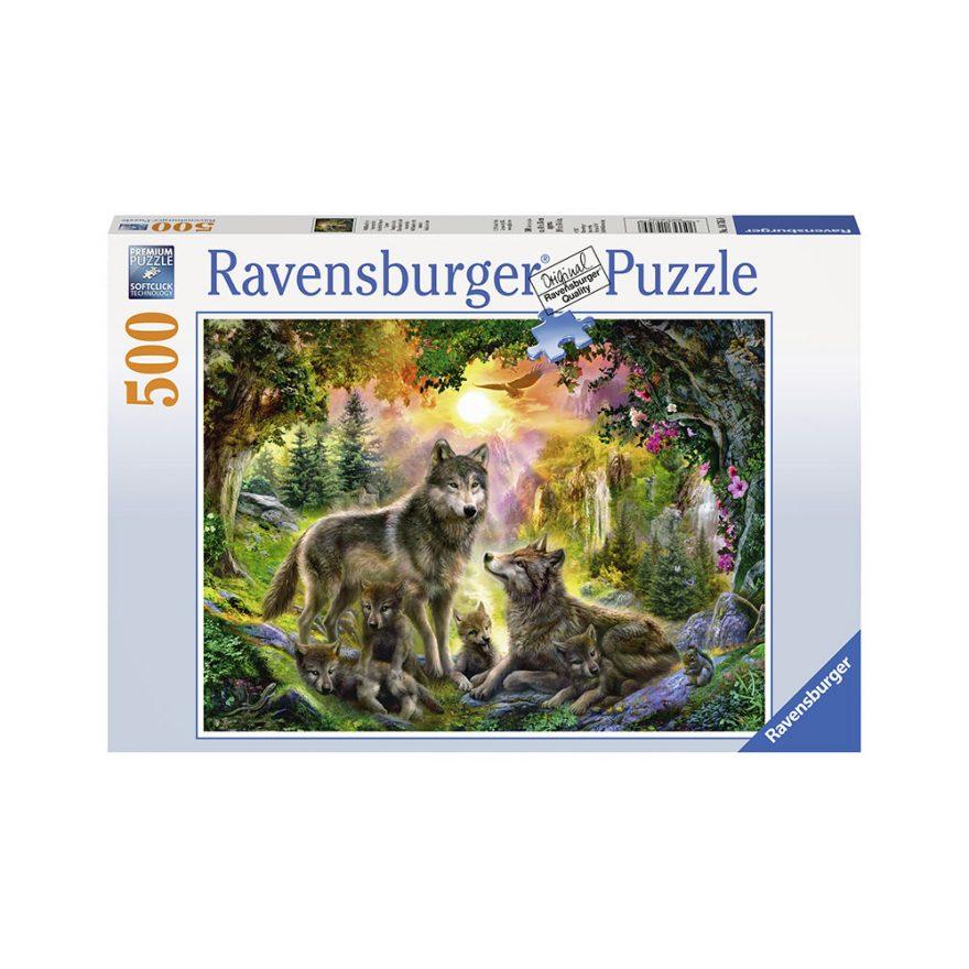 RAVENSBURGER ULVEFAMILIE 500P