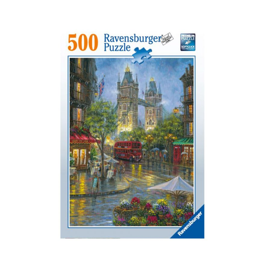 RAVENSBURGER LONDON ILLUSTRERT 500P