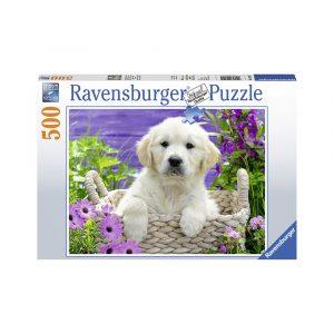 RAVENSBURGER GOLDEN RETRIEVER 500P