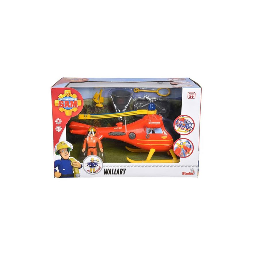 SAM HELICOPTER WALLABY INCLUDING FIGURE