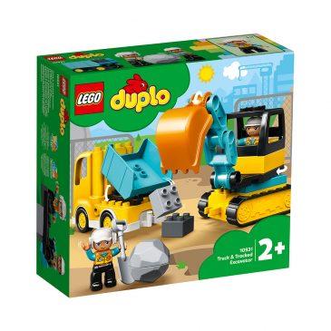 LEGO 10931  LASTEBIL OG BELTEGRAVEMASKIN