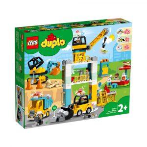 LEGO 10933  BYGGEARBEID MED TÅRNKRAN