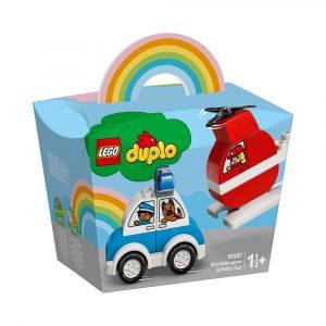 LEGO 10957 BRANNHELIKOPTER OG POLITIBIL