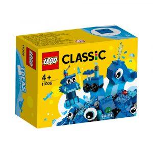 LEGO 11006  BLÅ KREATIVITETSKLOSSER