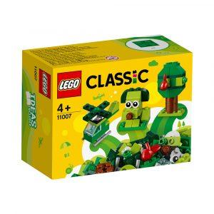 LEGO 11007  GRØNNE KREATIVITETSKLOSSER