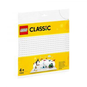 LEGO 11010  HVIT BASISPLATE