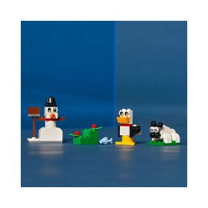 LEGO 11012  KREATIVITET MED HVITE KLOSSE