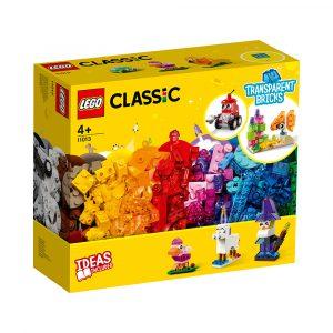 LEGO 11013 KREATIVITET MED GJENNOMSIKTIG