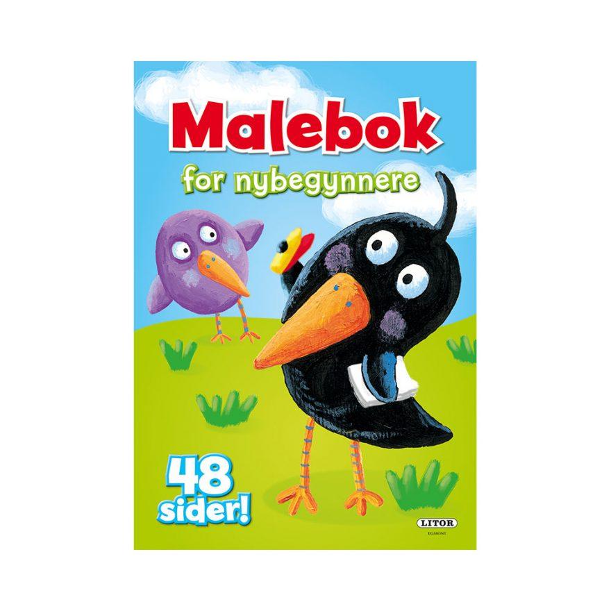 MALEBOK FOR NYBEGYNNERE 48 SIDER