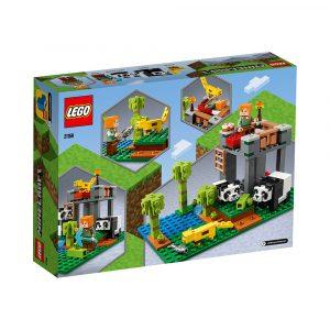 LEGO 21158  PANDAHJEM MED PARK