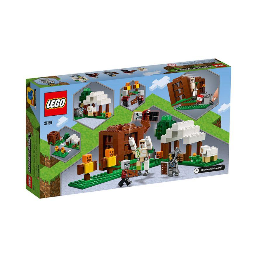 LEGO 21159  PILLAGERNES UTPOST