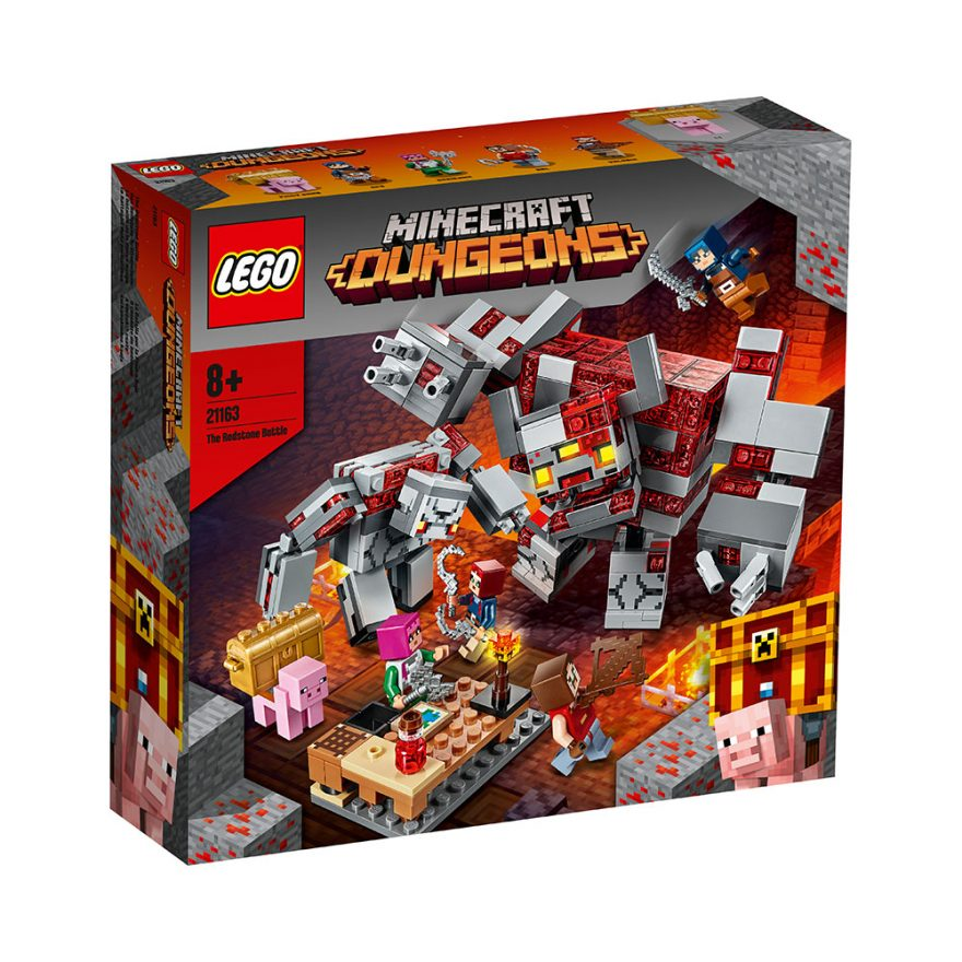 LEGO 21163  RØDSTEINSKAMPEN
