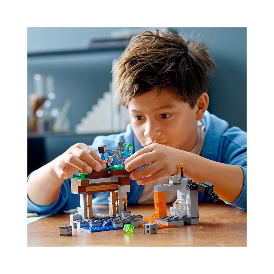 LEGO 2166 DEN NEDLAGTE GRUVEN