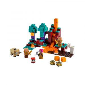 LEGO 21168 DEN VINDSKJEVE SKOGEN