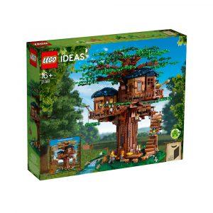 LEGO 21318 TREHYTTE
