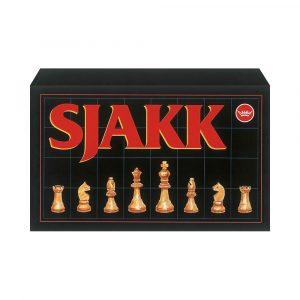 SPILL SJAKK MED TREBRIKKER, 67/360/360