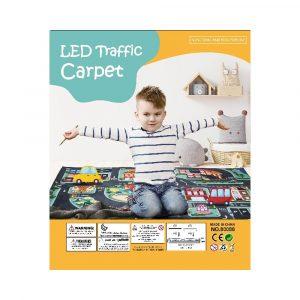 LEKEMATTE TRAFIKK MED LED LYS