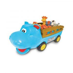 HAPPY HIPPO BIL MED FIGURER,