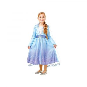 ELSA CLASSIC KJOLE, FROZEN 2 STR. MEDIUM
