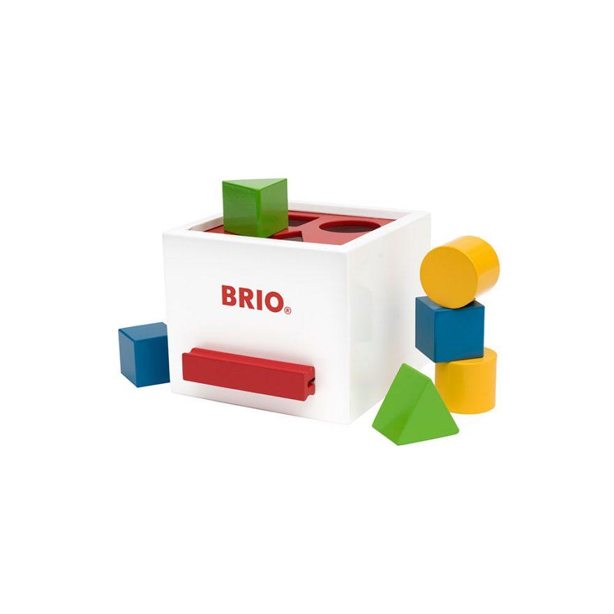 BRIO® SORTERINGSBOKS