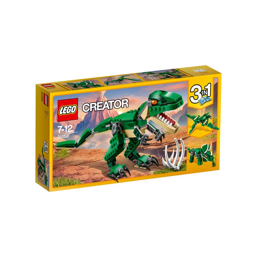 LEGO 31058  GRØNN DINOSAUR