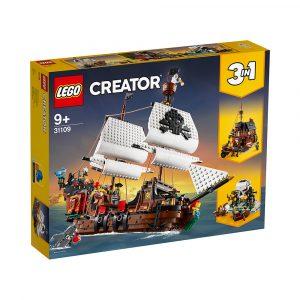 LEGO 31109  SJØRØVERSKUTE