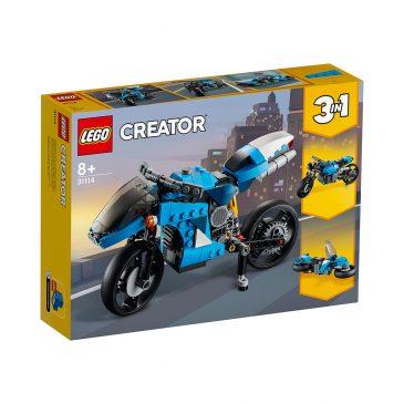 LEGO 31114 SUPERMOTORSYKKEL