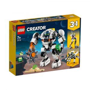 LEGO 31115  GRUVEROBOT I ROMMET