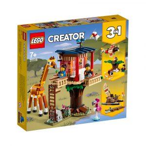 LEGO 31116  SAFARITREHYTTE MED VILLE DYR