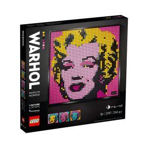 LEGO 31197  ANDY WARHOLS MARILYN MONROE