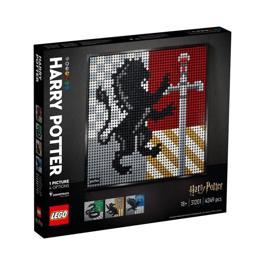 LEGO 31201 HARRY POTTER HOGWARTS CRESTS