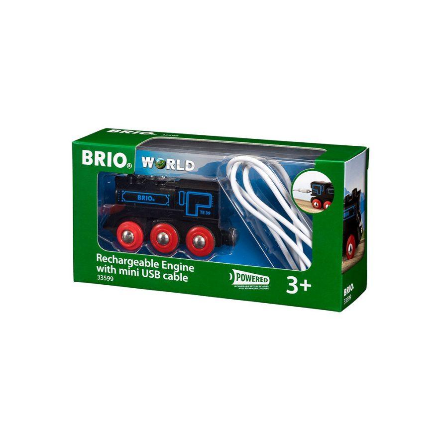 BRIO DAMPLOK OPPLADBART USB