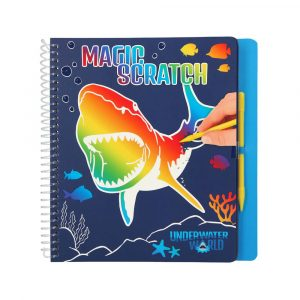 AKTIVITETSBOK MAGIC SCRATCH UNDERWATER D