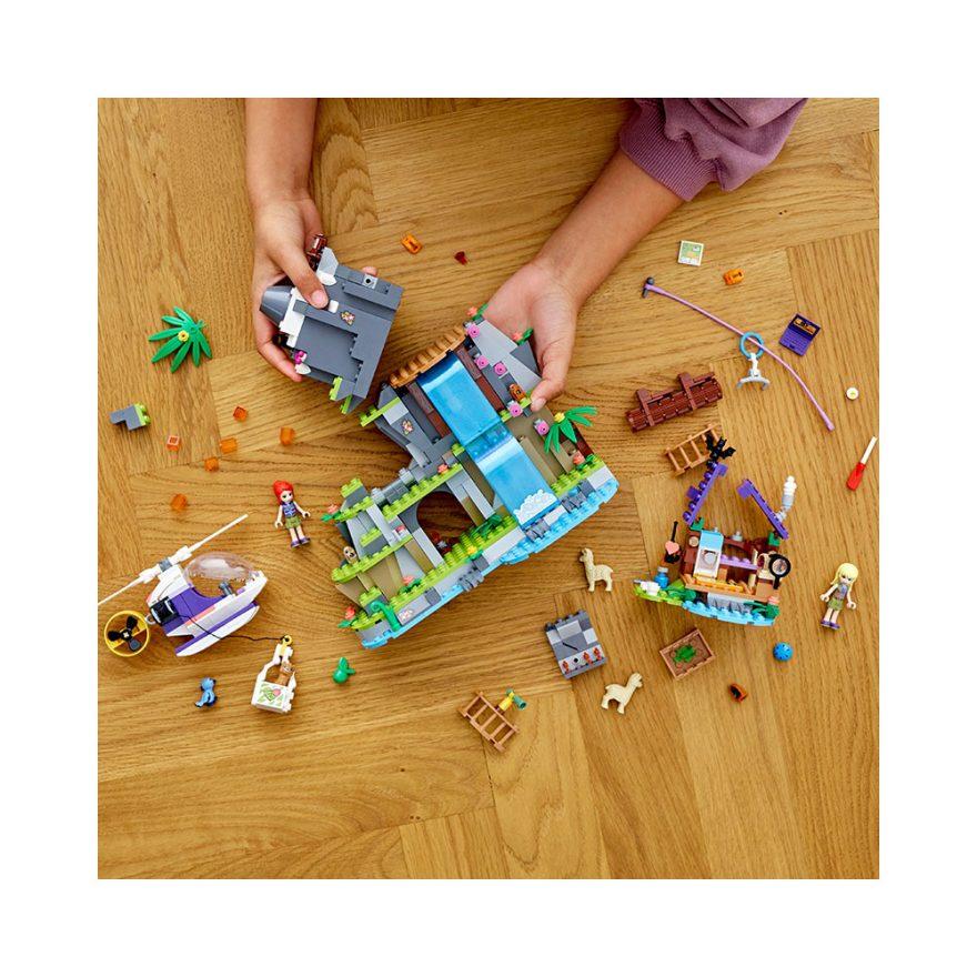 LEGO 41432  JUNGELREDNING I ALPAKKAFJELL