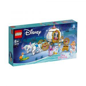 LEGO 43192 ASKEPOTTS KONGELIGE VOGN