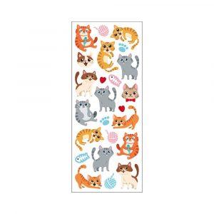 STICKERS FUNNY CATS TINKA