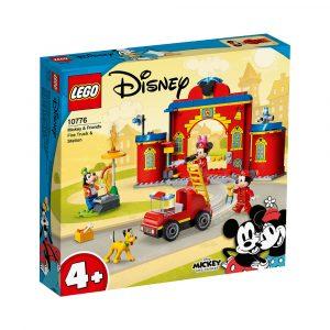 LEGO 10776 MIKKE OG VENNERS BRANNSTASJON