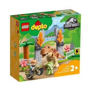 LEGO 10939 T -REX OG TRICERATOPS RØMMER
