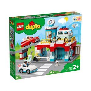 LEGO 10948 PARKERINGSHUS OG BILVASK