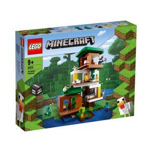 LEGO 21174 MODERNE TREHYTTE