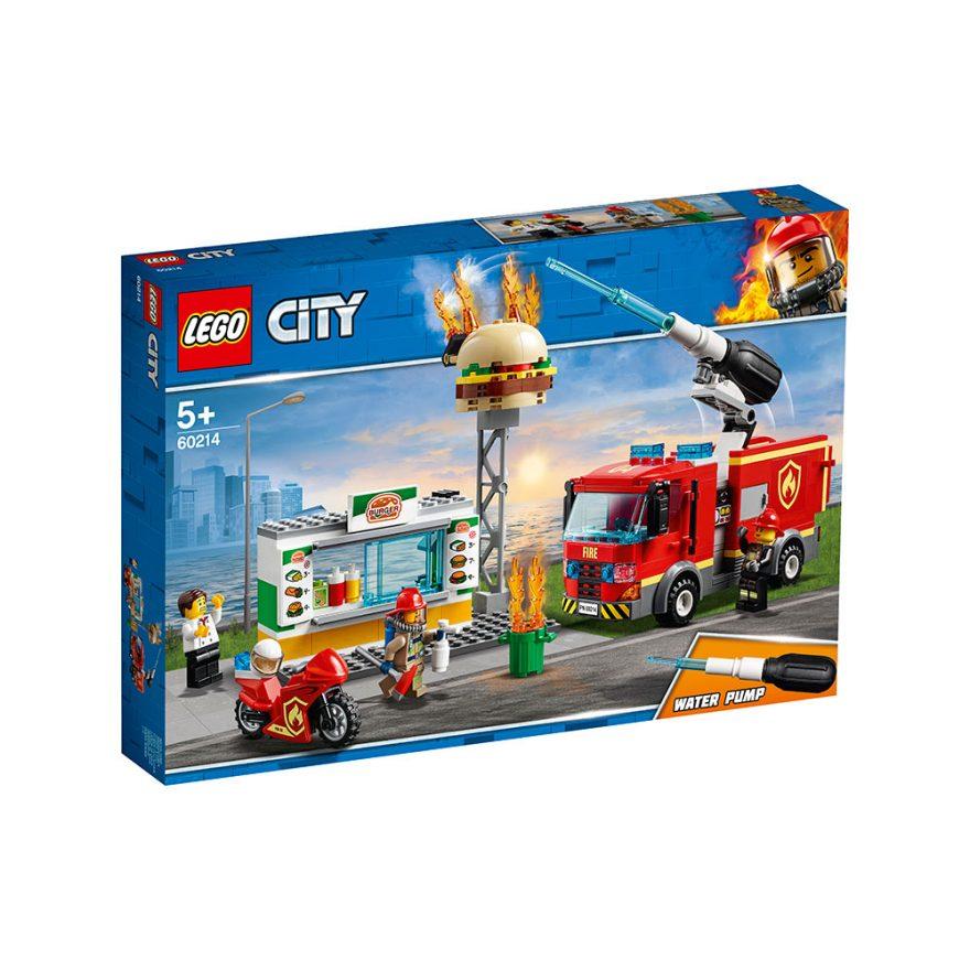 LEGO 60214  BRANNSLOKKING PÅ BURGERBAR