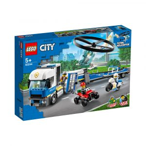 LEGO 60244 POLITIETS HELIKOPTERTRANSPORT