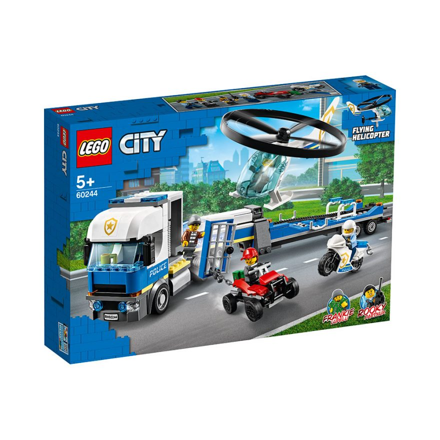 LEGO 60244 POLITIETS HELIKOPTERTRANSPORT