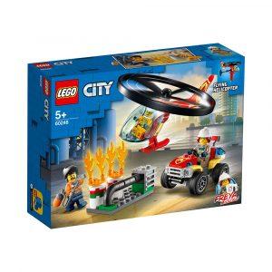 LEGO 60248  BRANNVESENETS UTRYKNINGSHELI