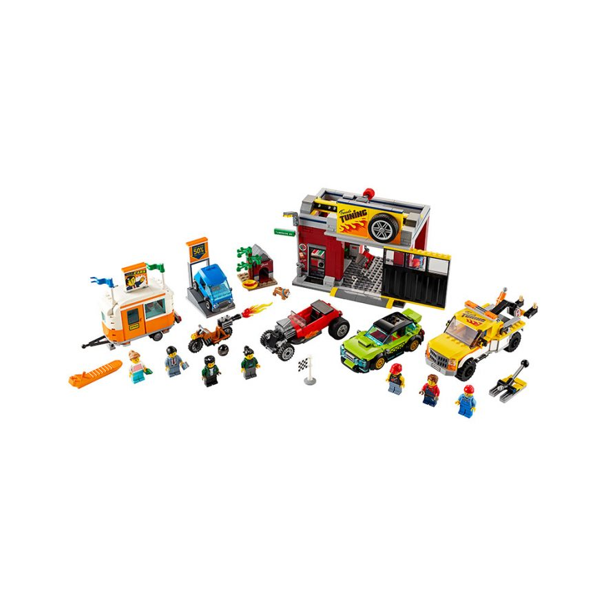 LEGO 60258  TRIMMEVERKSTED