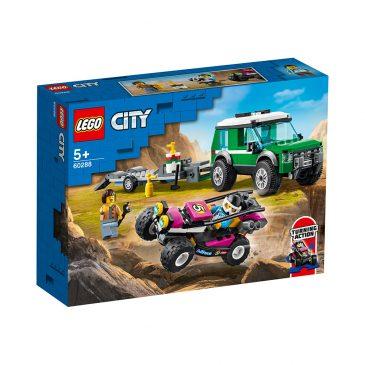 LEGO 60288 HENGERTRANSPORT MED RACERBUGG