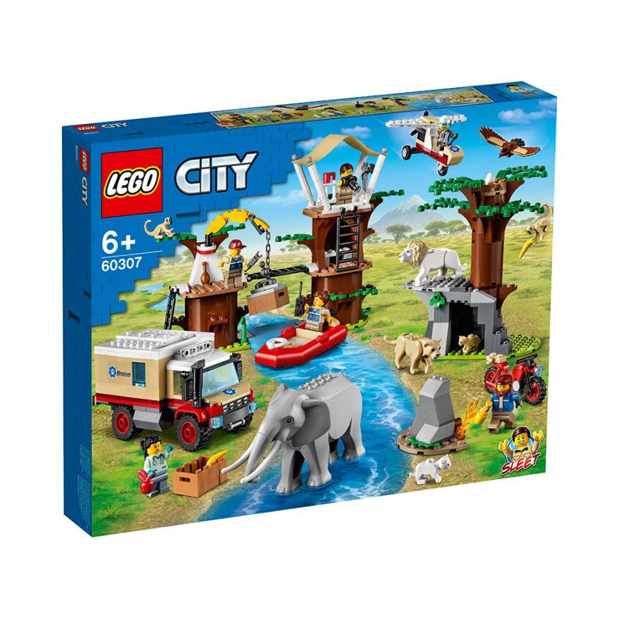 LEGO 60307 DYREREDNINGSTJENESTENS LEIR