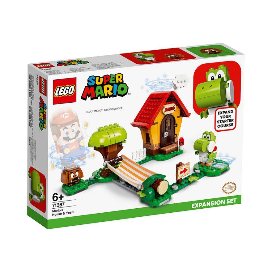LEGO 71367  EKSTRABANEN MARIOS HUS OG YO