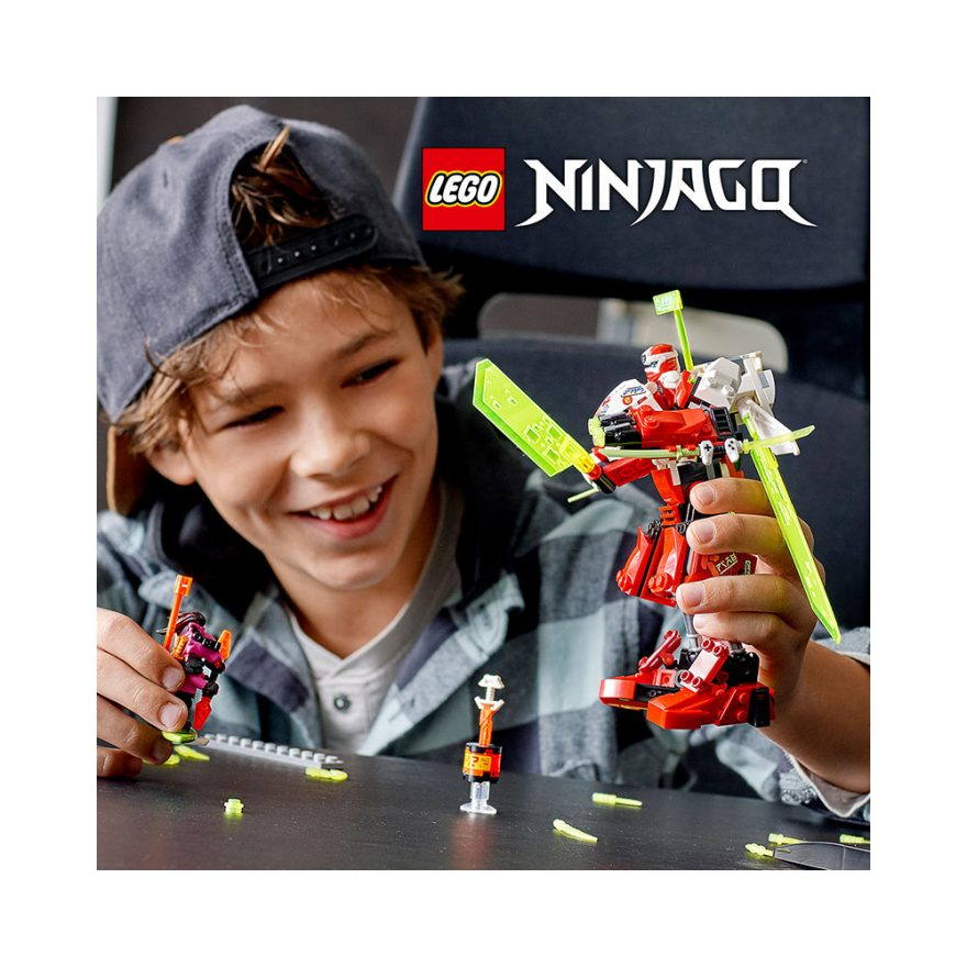 LEGO 71707  KAIS ROBOTJAGER